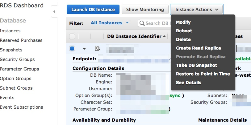 Amazon RDS Creating Functions in MySQL – Creative Development